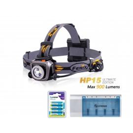 HP15UE  4 baterías Recargables y Cargador